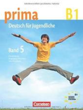 Prima-Deutsch fur Jugendliche 5 (B1). Schulerbuch - фото обкладинки книги