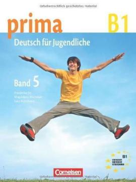 Prima-Deutsch fur Jugendliche 5 (B1). Schulerbuch - фото книги