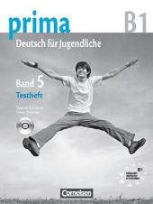 Prima-Deutsch fur Jugendliche 5 (B1). Testheft - фото обкладинки книги