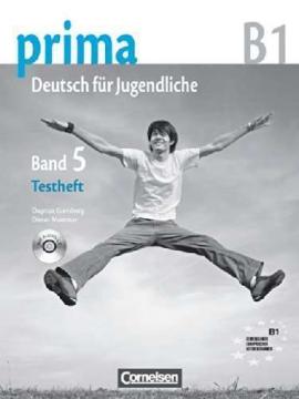 Prima-Deutsch fur Jugendliche 5 (B1). Testheft - фото книги