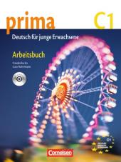 Prima-Deutsch fur Jugendliche 7 (C1). Arbeitsbuch+CD - фото обкладинки книги