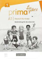 Prima - Los geht's! A1 Handreichungen fr den Unterricht mit Kopiervorlagen und Audio-CD - фото обкладинки книги