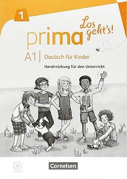 Prima - Los geht's! A1 Handreichungen fr den Unterricht mit Kopiervorlagen und Audio-CD - фото книги