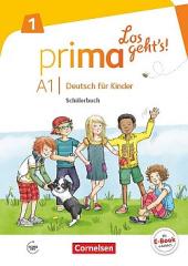 Prima - Los geht's! A1 Schulerbuch mit Audios online - фото обкладинки книги