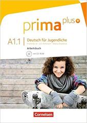 Prima plus A1/1. Arbeitsbuch mit CD-ROM (+аудіодиск) - фото обкладинки книги