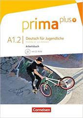 Prima plus A1/2. Arbeitsbuch mit CD-ROM (+аудіодиск) - фото обкладинки книги
