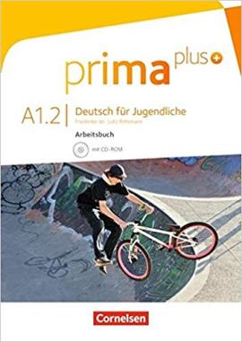 Prima plus A1/2. Arbeitsbuch mit CD-ROM (+аудіодиск) - фото книги