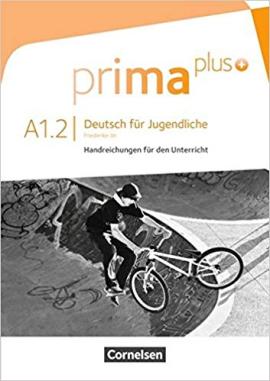 Prima plus A1/2. Handreichung fur den Unterricht - фото книги