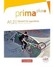 Prima plus A1/2. Schlerbuch - фото обкладинки книги