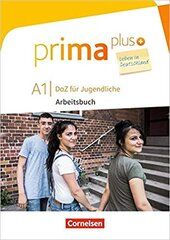 Prima plus A1. Arbeitsbuch mit MP3-Download und Lsungen (з відповідями) - фото обкладинки книги
