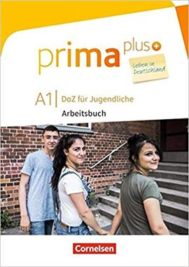 Prima plus A1. Arbeitsbuch mit MP3-Download und Lsungen (з відповідями) - фото книги