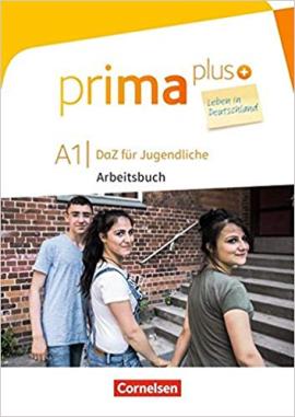 Prima plus A1. Arbeitsbuch mit MP3-Download und Lsungen (з відповідями) - фото книги