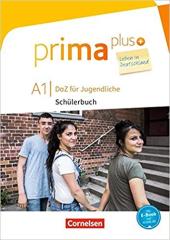 Prima plus A1. Schlerbuch mit MP3-Download - фото обкладинки книги