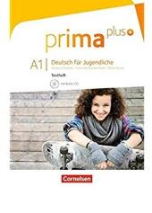 Prima plus A1. Testheft mit Audio-CD (тестові завдання + аудідиск) - фото обкладинки книги