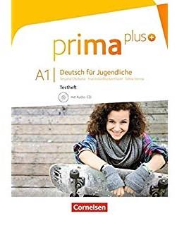 Prima plus A1. Testheft mit Audio-CD (тестові завдання + аудідиск) - фото книги