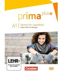 Prima plus A1. Video-DVD mit bungen (відеодиск) - фото книги