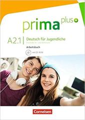 Prima plus A2/1. Arbeitsbuch mit CD-ROM (+аудіодиск) - фото обкладинки книги