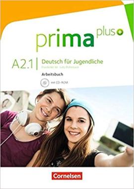 Prima plus A2/1. Arbeitsbuch mit CD-ROM (+аудіодиск) - фото книги