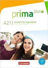 Prima plus A2/1. Schlerbuch - фото обкладинки книги