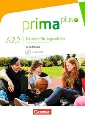 Prima plus A2/2. Arbeitsbuch mit CD-ROM (+аудіодиск) - фото обкладинки книги