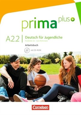 Prima plus A2/2. Arbeitsbuch mit CD-ROM (+аудіодиск) - фото книги
