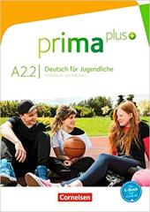 Prima plus A2/2. Schlerbuch - фото обкладинки книги