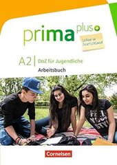 Prima plus A2. Arbeitsbuch mit MP3-Download und Lsungen (з відповідями) - фото обкладинки книги