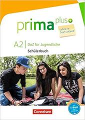 Prima plus A2. Schlerbuch mit MP3-Download - фото обкладинки книги