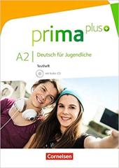Prima plus A2. Testheft mit Audio-CD (тестові завдання + аудідиск) - фото обкладинки книги