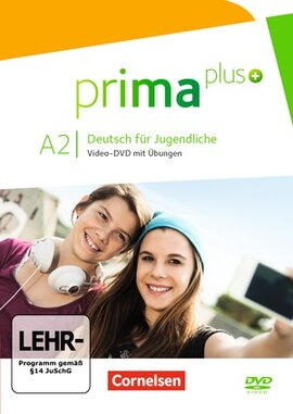 Prima plus A2. Video-DVD mit bungen (відеодиск) - фото книги