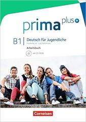 Prima plus B1. Arbeitsbuch mit CD-ROM (+аудіодиск) - фото обкладинки книги
