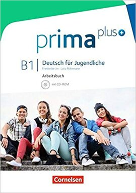 Prima plus B1. Arbeitsbuch mit CD-ROM (+аудіодиск) - фото книги