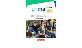 Prima plus B1. Arbeitsbuch mit MP3-Download und Lsungen (з відповідями) - фото книги