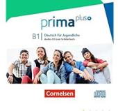 Prima plus B1. Audio CD - фото обкладинки книги