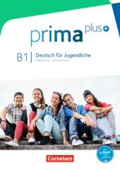 Prima plus B1. Schlerbuch - фото обкладинки книги
