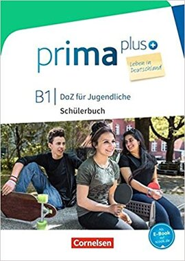 Prima plus B1. Schlerbuch mit MP3-Download - фото книги