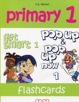 Primary 1. Get Smart 1. Flashcards (набір карток із зображеннями для запам'ятовування лексики) - фото книги