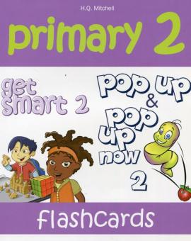 Primary 2. Get Smart 2. Flashcards (набір карток із зображеннями для запам'ятовування лексики) - фото книги