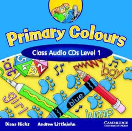 Аудіодиск Primary Colours 1 Class Audio CDs