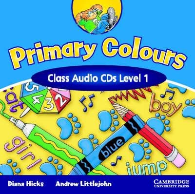 Аудіодиск Primary Colours 1 Class Audio CDs