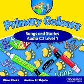 Primary Colours 1 Songs and Stories Audio CD - фото обкладинки книги
