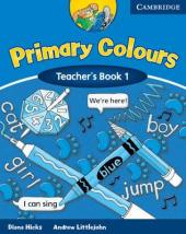 Primary Colours 1 Teacher's book - фото обкладинки книги