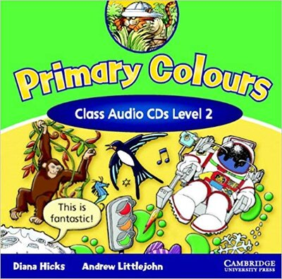 Аудіодиск Primary Colours 2 Class Audio CD