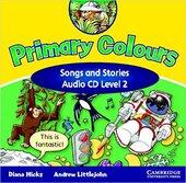Primary Colours 2 Songs and Stories Audio CD - фото обкладинки книги
