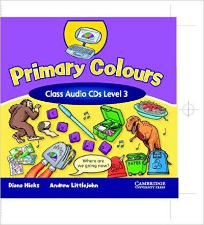 Аудіодиск Primary Colours 3 Class Audio CD