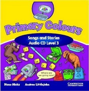 Аудіодиск Primary Colours 3 Songs and Stories Audio CD