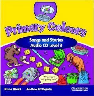 Аудіодиск Primary Colours 3 Songs and Stories Audio CD