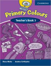 Primary Colours 3 Teacher's Book - фото обкладинки книги