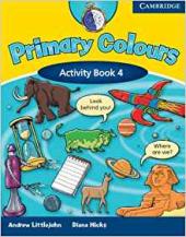 Primary Colours Level 4 Activity Book - фото обкладинки книги