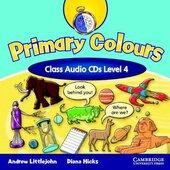 Аудіодиск Primary Colours Level 4 Class Audio CDs